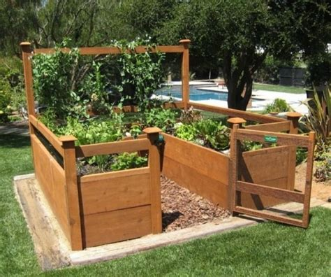 Diy Elevated Raised Bed Garden