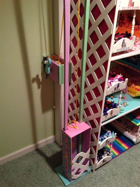 Diy Elevator For Dollhouse