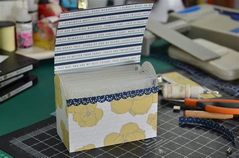 Diy Embossing Folder Storage