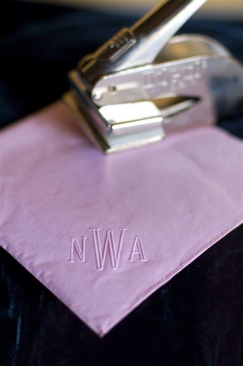 Diy Embossing Paper Napkins