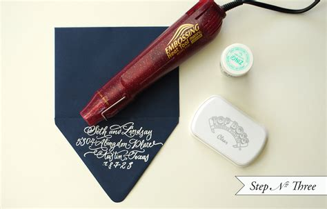 Diy Embossing Stamp