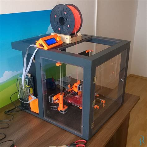 Diy Enclosure For A 3d Printer