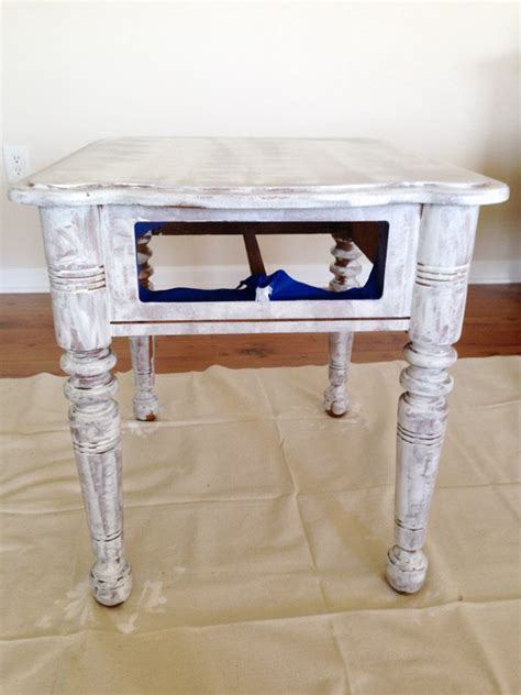 Diy End Table Paint