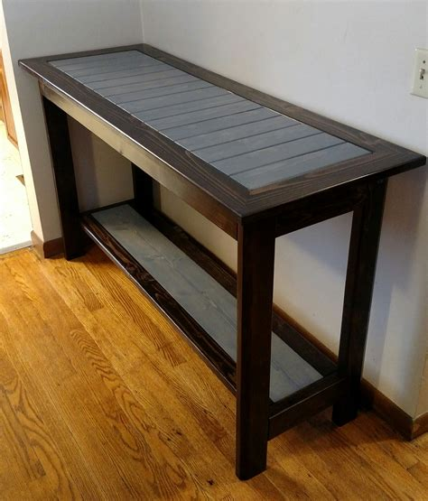 Diy End Tables Plans Using 2 X 4