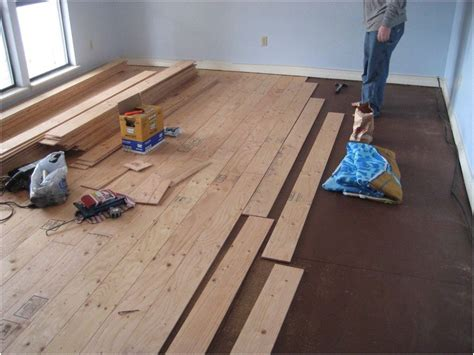 Diy Engineered Wood Floor