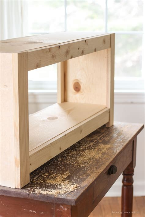 Diy Entrance Bench With Storage
