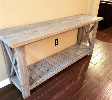 Diy Entry Farmer Table To Make