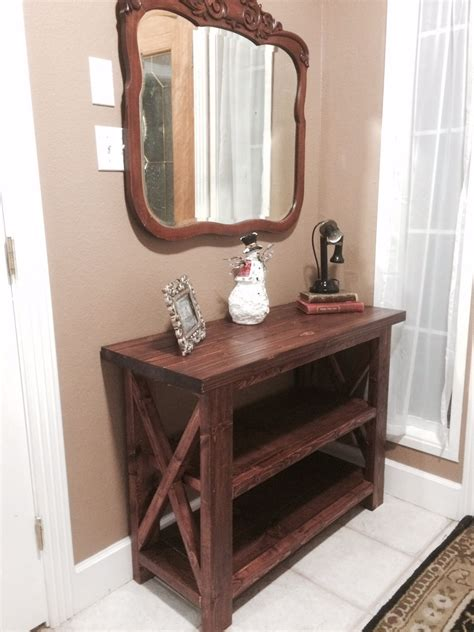 Diy Entry Table Ana White Bookshelf