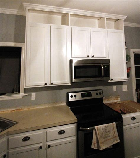 Diy Extend Kitchen Cabinets To Ceiling