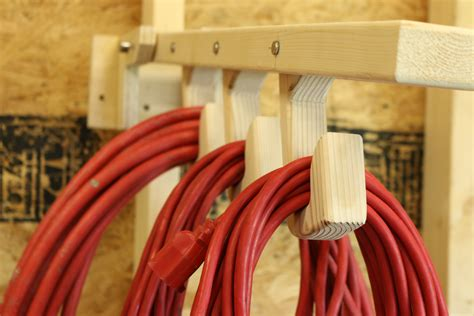 Diy Extension Cord Storage