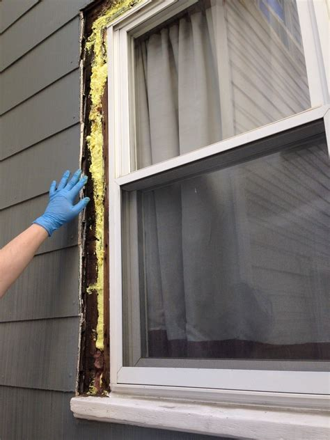 Diy Exterior Window Trim Repair