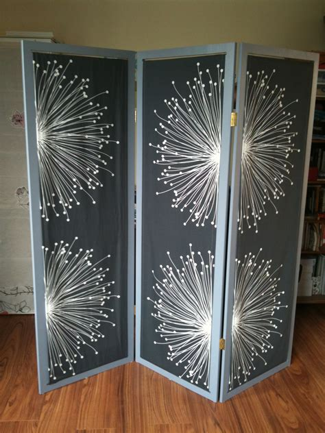 Diy Fabric And Wood Room Divider