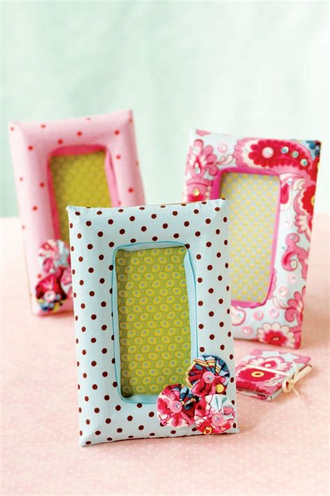 Diy Fabric Covered Picture Frames