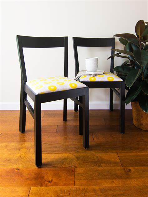Diy Fabric Dining Room Chairs
