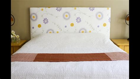Diy Fabric Headboard Twin Bed