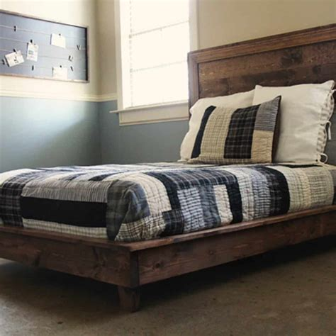 Diy Fabric Platform Bed