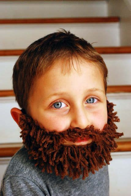 Diy Fake Beards For Kids