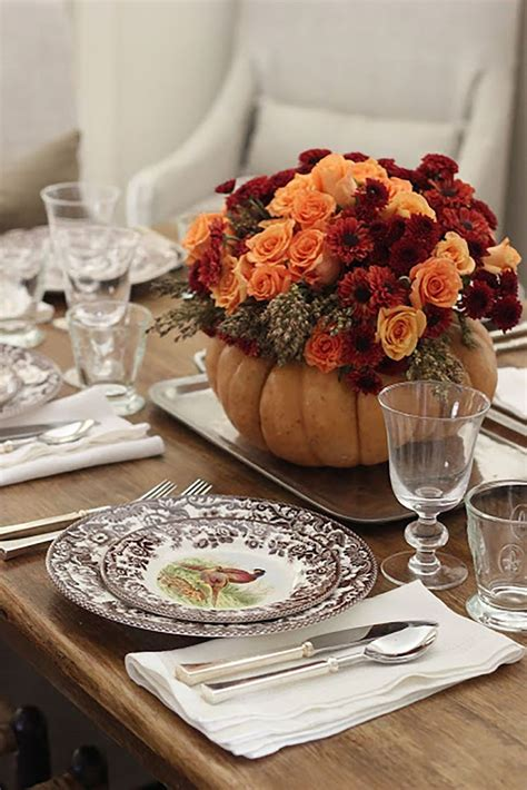 Diy Fall Table Decorations Centerpiece