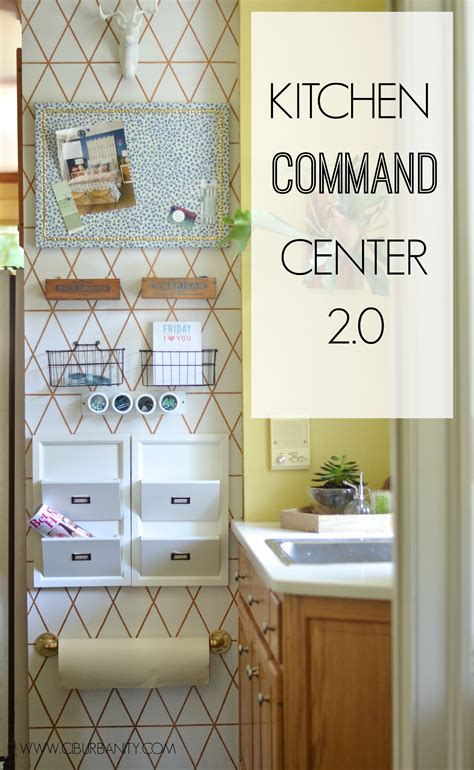 Diy Family Command Center Ideas