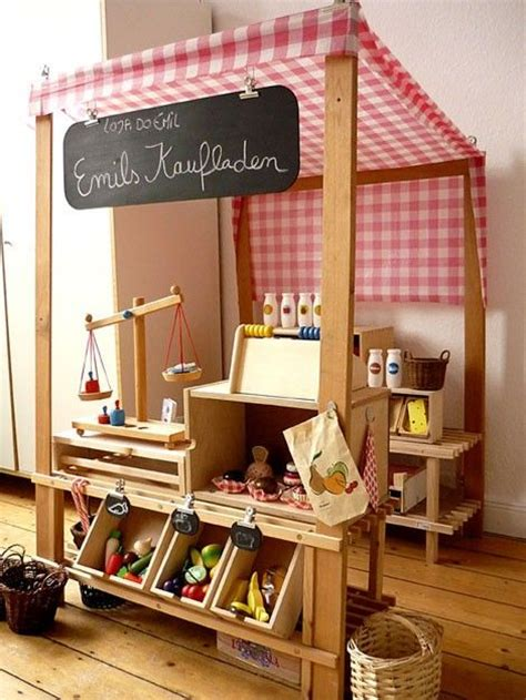 Diy Farm Stand Pretend Play