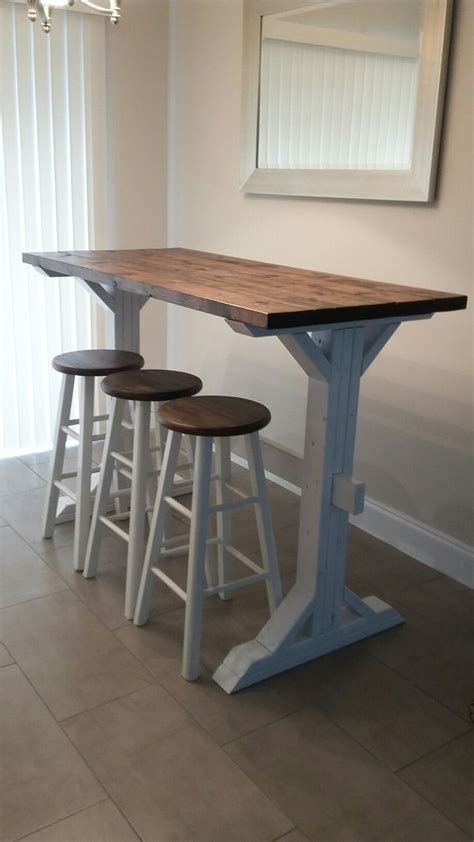 Diy Farmhouse Bar Table