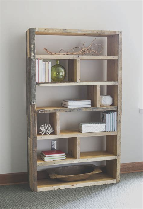 Diy Farmhouse Bookshelf