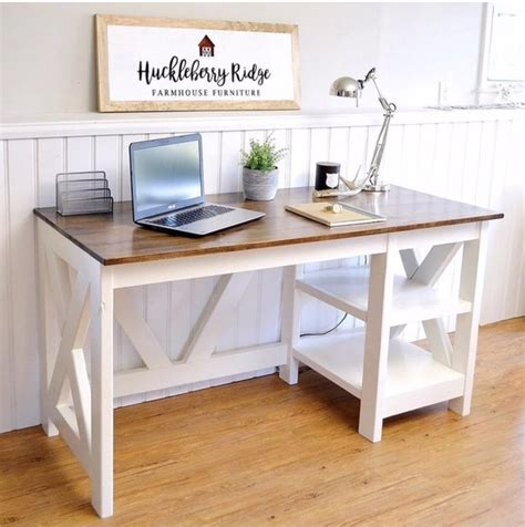 Diy Farmhouse Computer Desk