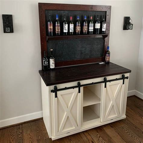 Diy Farmhouse Liquor Bar