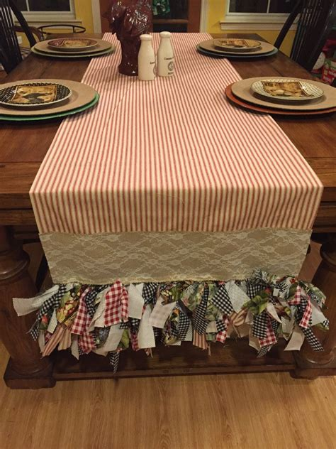 Diy Farmhouse Table Over Existing Table Runners