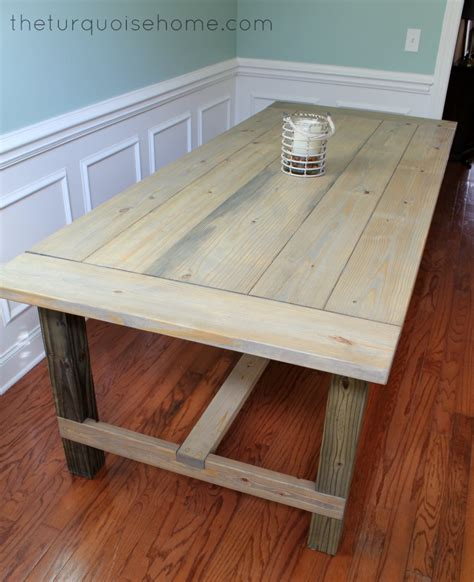 Diy Farmhouse Table Plans Kreg Jig