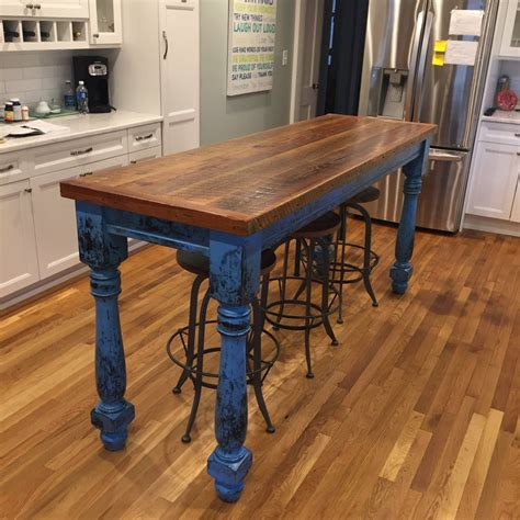 Diy Farmhouse Table Reclaimed Wood
