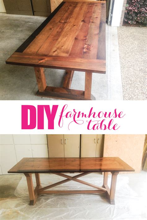 Diy Farmhouse Table Top Plans