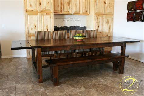 Diy Farmhouse Table With Extensions