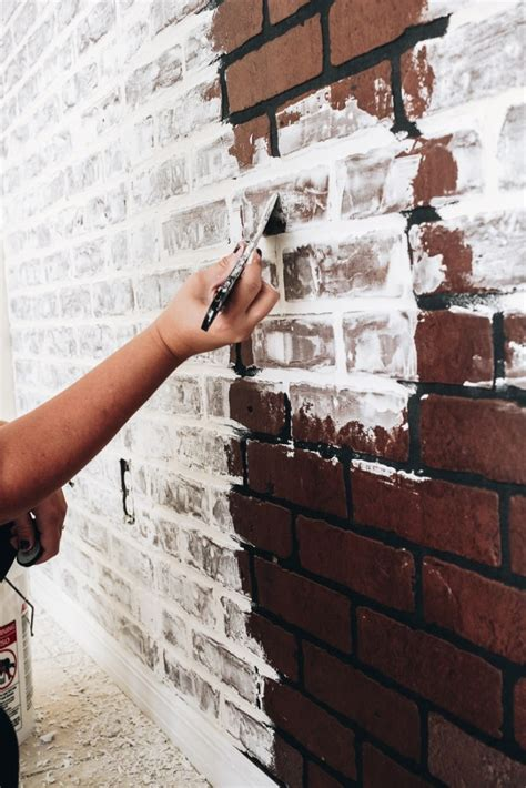 Diy Faux Brick