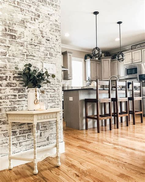 Diy Faux Brick Accent Wall