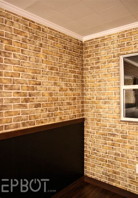 Diy Faux Brick Finishes