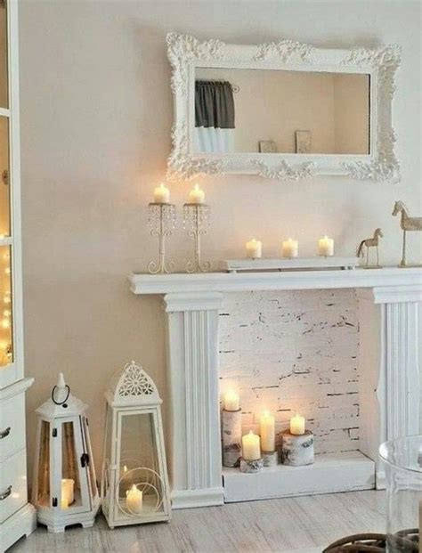 Diy Faux Fireplace Hearth