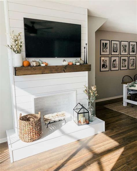 Diy Faux Fireplace Look Built In