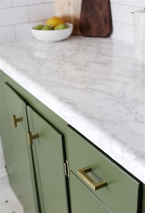 Diy Faux Marble Countertops Over Laminate