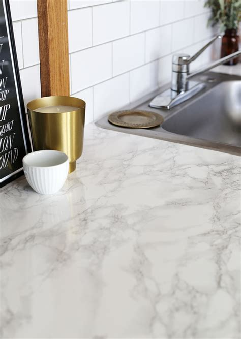 Diy Faux Marble For Countertops