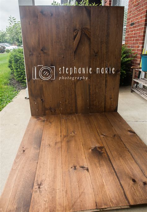Diy Faux Wood Floor For Photography