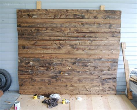 Diy Faux Wood For Backdrop For Wedding