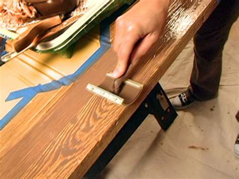 Diy Faux Wood Grain Painting Instructions