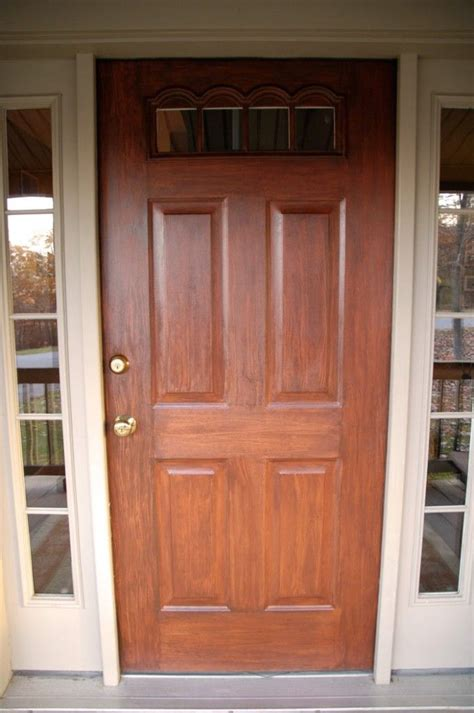 Diy Faux Wood Painted Doors