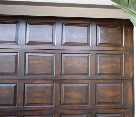 Diy Faux Wood Painting Garage Door