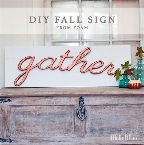 Diy Faux Wooden Sign