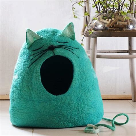 Diy Felted Dome Cat Bed