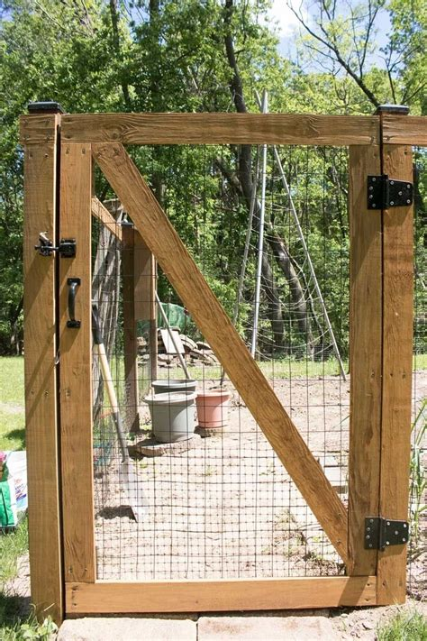Diy Fence Gate Ideas