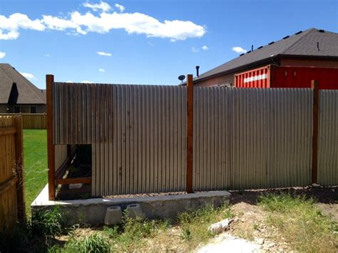 Diy Fence Panel Corrugated Tin