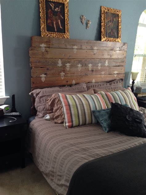 Diy Fence Panel Headboard